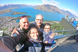 Jean-Jacques en famille à Queenstown