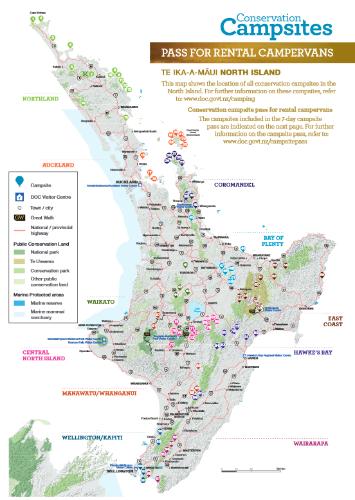 Les campings du DOC en Nouvelle Zélande, guide pratique   Agence
