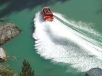 Queenstown jetboat bus