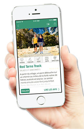 Le guide Nouvelle-Zélande application interactive