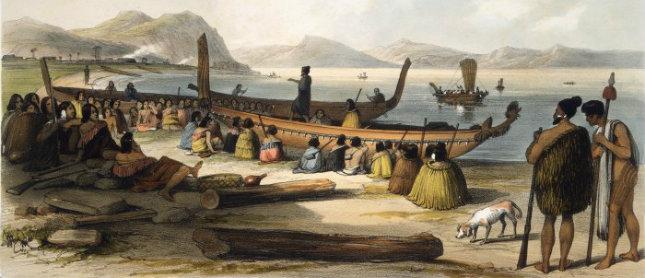 Royaume de Mapete/Pule'anga Fakatu'i 'o Mapete Maori-arrival
