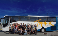 Bus aventure Frogs Topdeck
