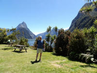 Vic à Milford Sound