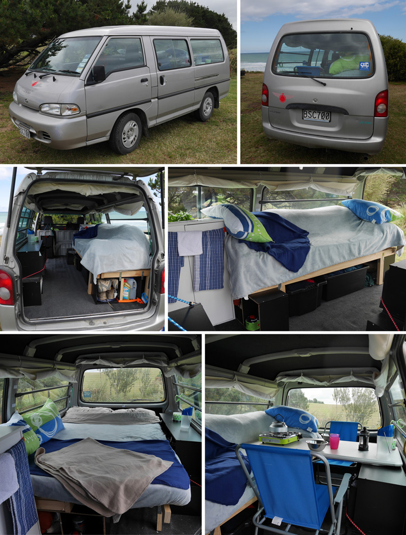 campervan self contained hyundai h100 ann e 2004 frogs. Black Bedroom Furniture Sets. Home Design Ideas