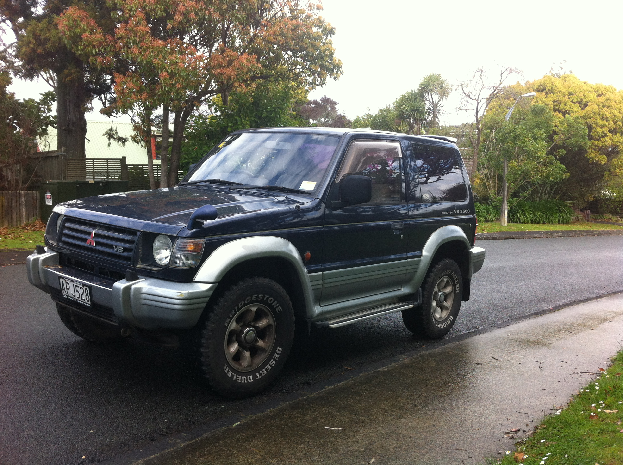 mitsubishi pajero 4x4 frogs in nz. Black Bedroom Furniture Sets. Home Design Ideas