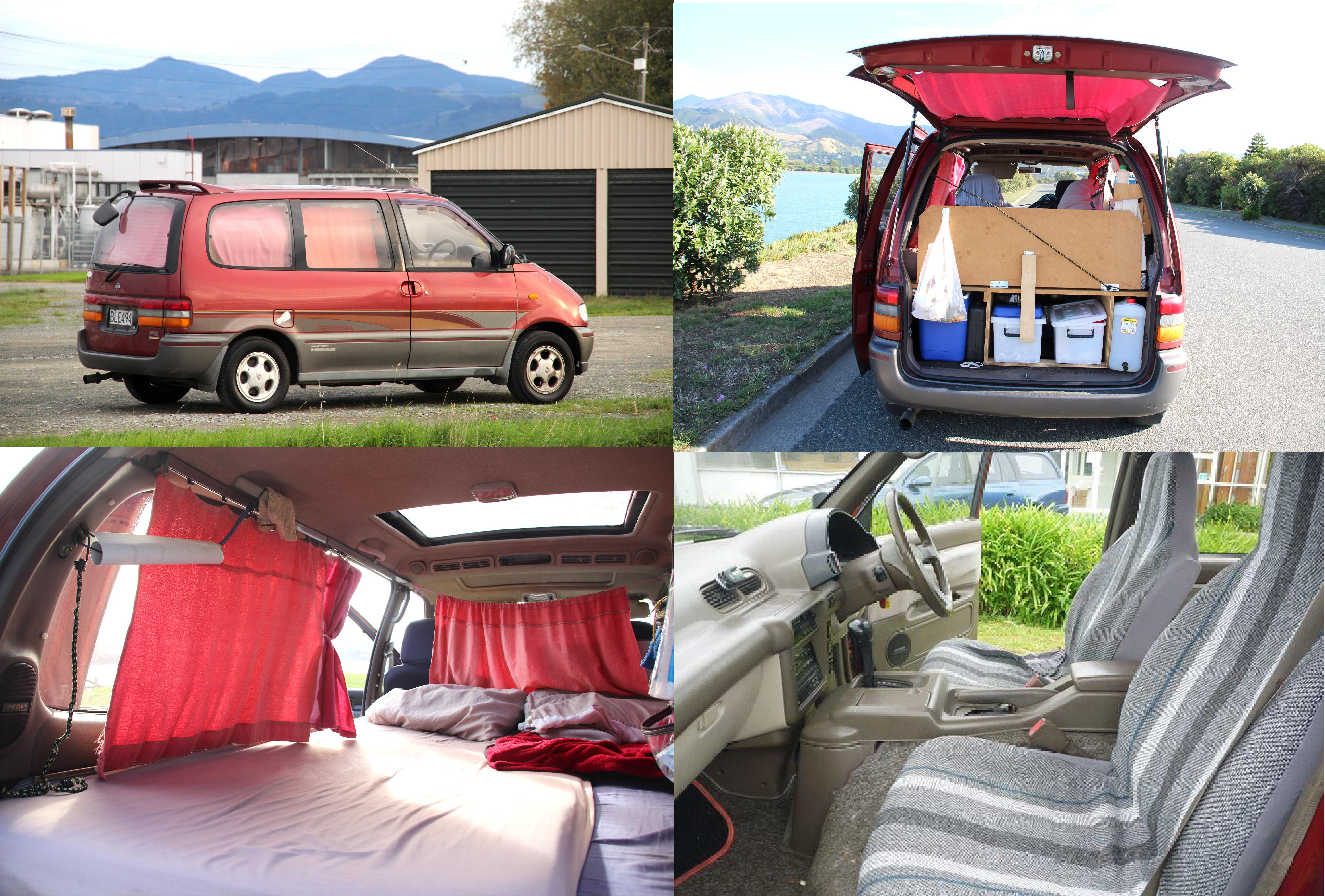 urgent nissan serena new wof frogs in nz. Black Bedroom Furniture Sets. Home Design Ideas